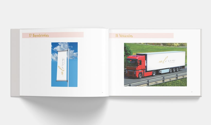 Manual Corporativo de Loren (marca ficticia) 17