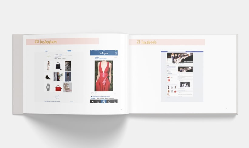 Manual Corporativo de Loren (marca ficticia) 20