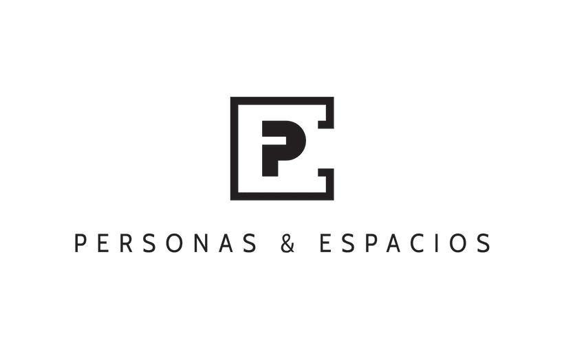 """Logotipo """"Personas & Espacios"""" 0"""