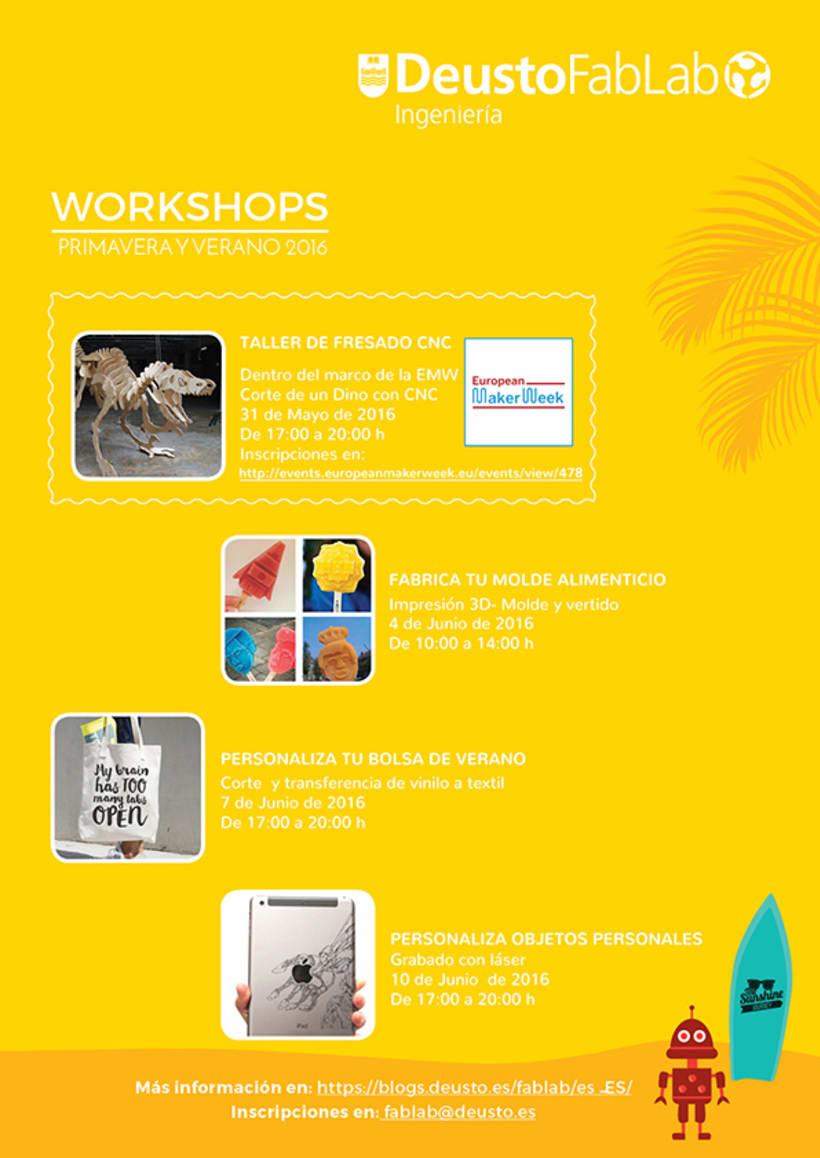 Workshop Posters- Carteles de cursos 0