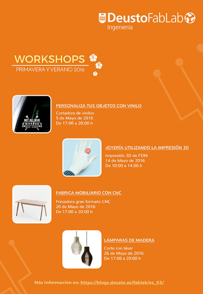 Workshop Posters- Carteles de cursos 1