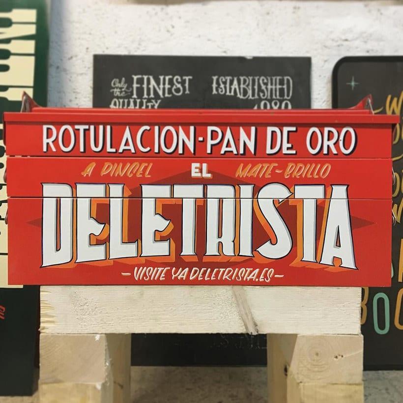 El Deletrista: el lettering mira al pasado 10