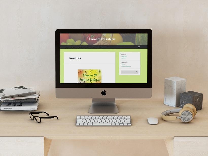 Página web Fruteria Floranes 19 0