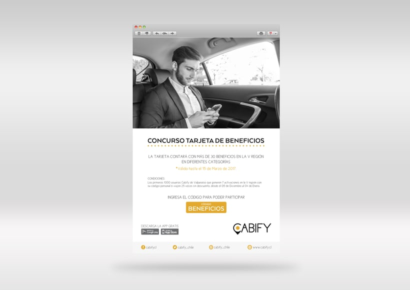Cabify: Piezas digitales 2