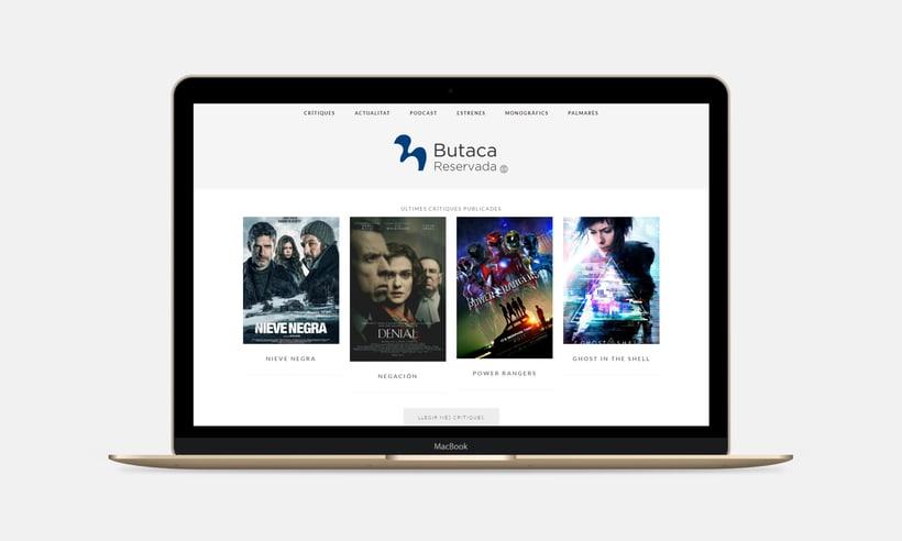 Diseño y desarrollo web para Butaca Reservada 1