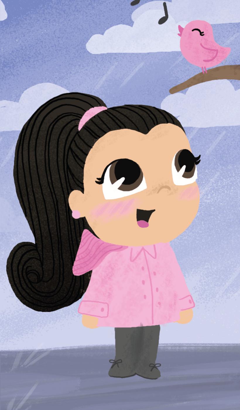 Ilustraciones niñas 1
