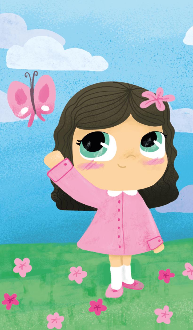 Ilustraciones niñas 2