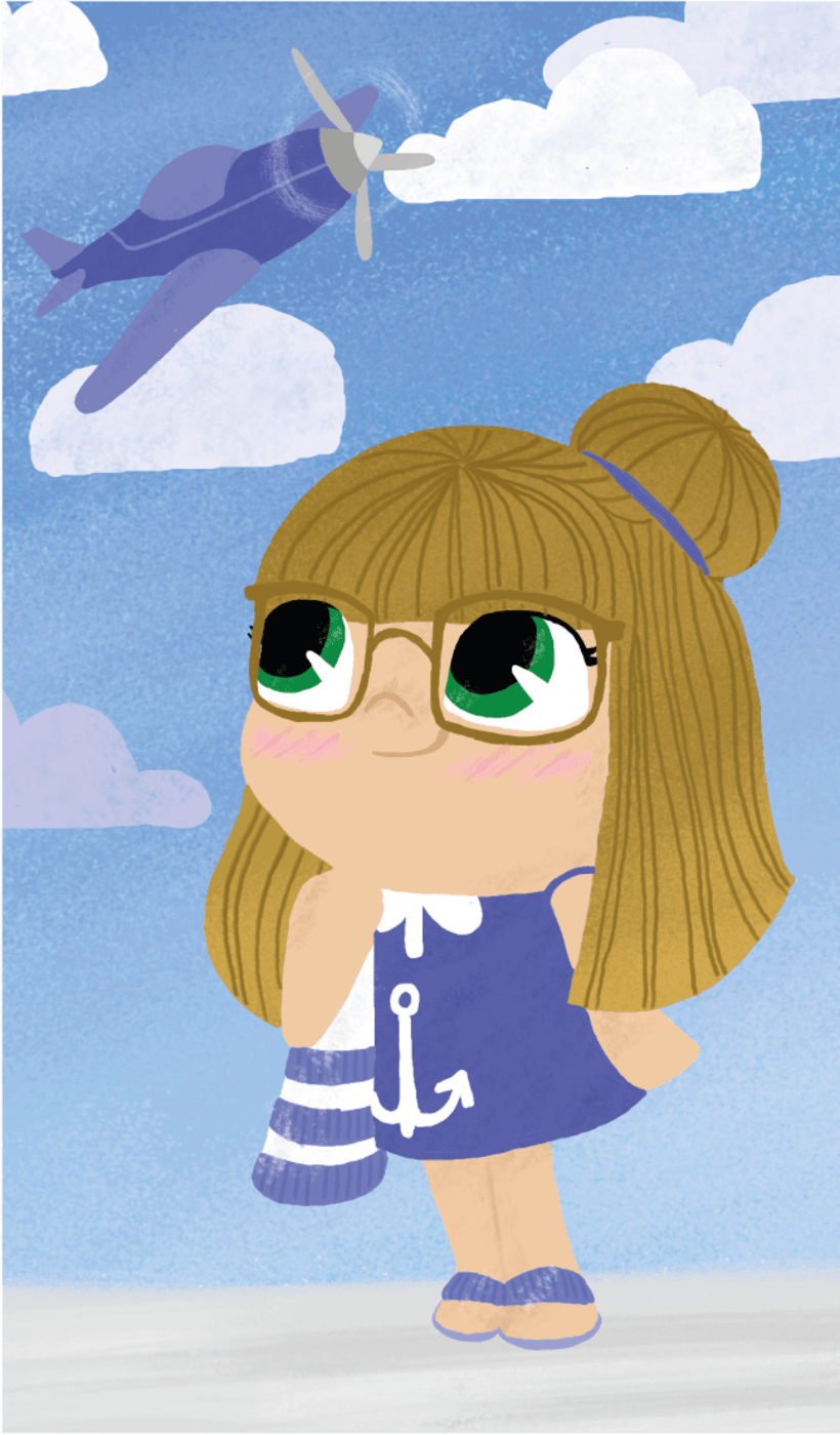 Ilustraciones niñas 3