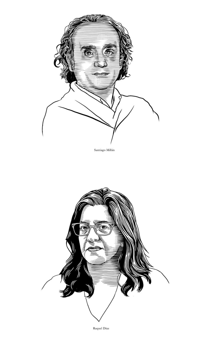 Retratos Grabados 1