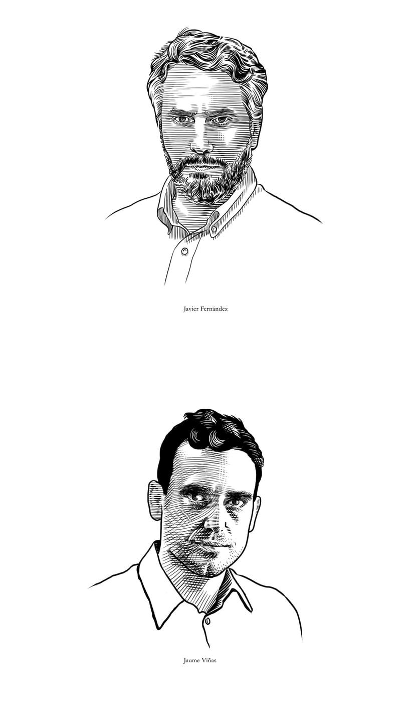 Retratos Grabados 5