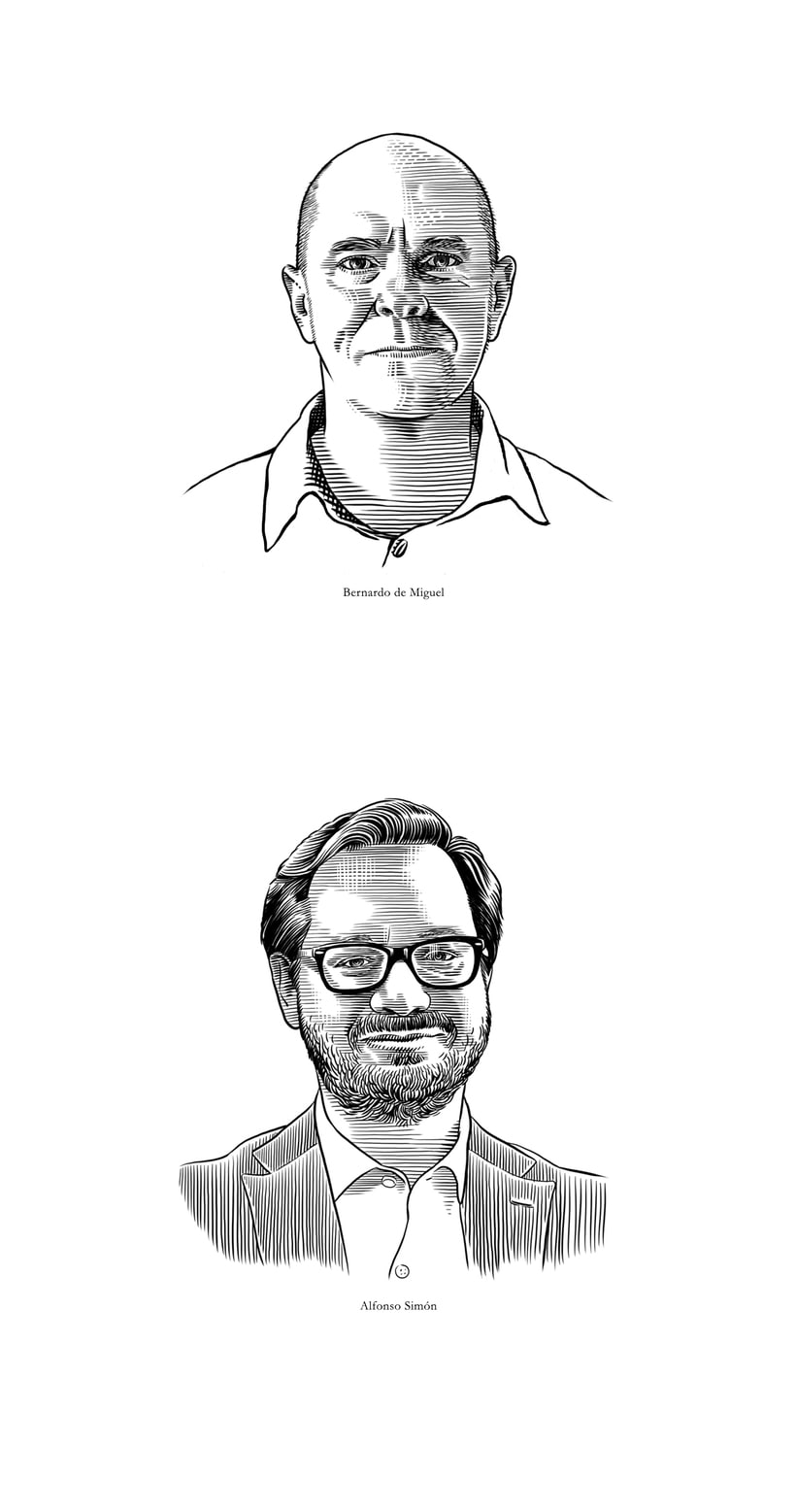 Retratos Grabados 8