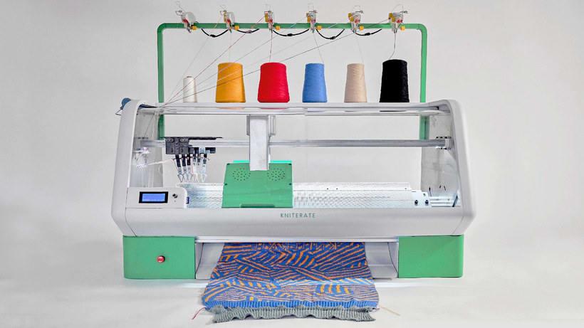 Kniterate, la impresora que teje tus diseños 1