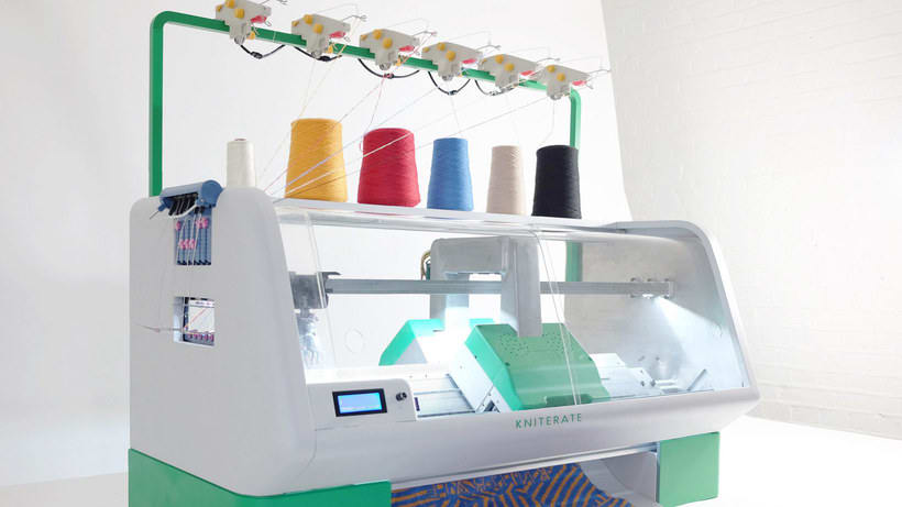 Kniterate, la impresora que teje tus diseños 7
