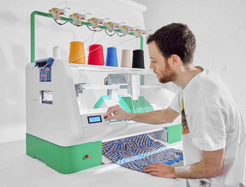 Kniterate, la impresora que teje tus diseños 9