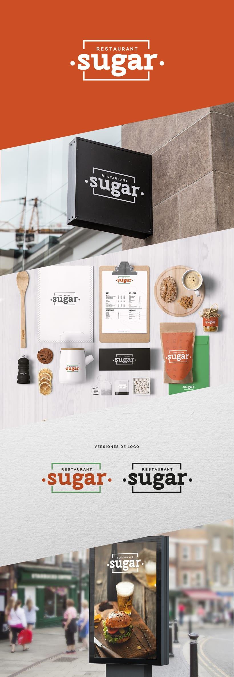 Restaurant Sugar - Branding -1
