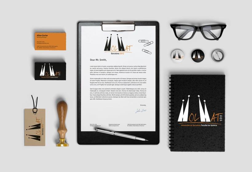 Branding e Identidad Visual Corporativa para MolMat Barcelona 2012 0