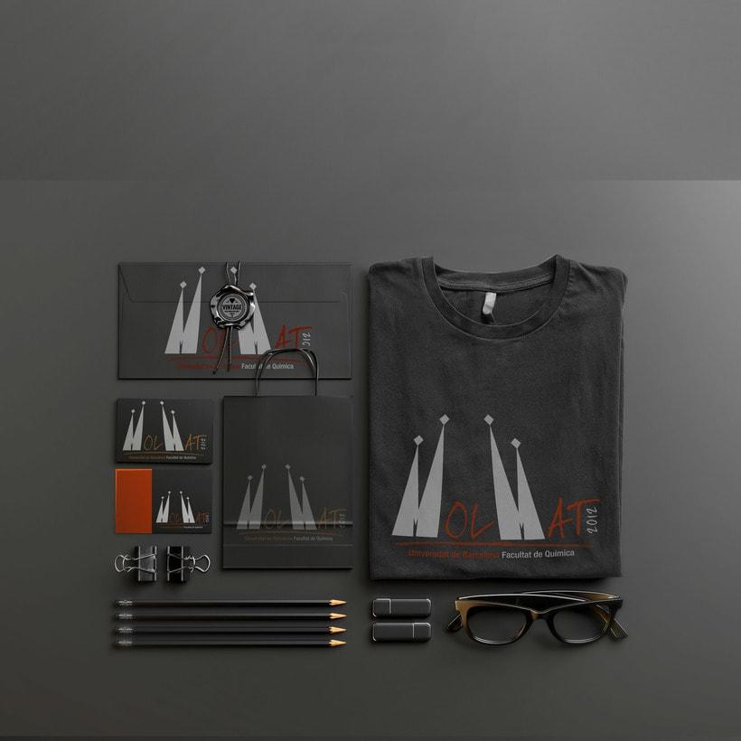 Branding e Identidad Visual Corporativa para MolMat Barcelona 2012 1