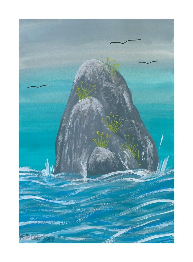 Rocas en el ancho mar... 2
