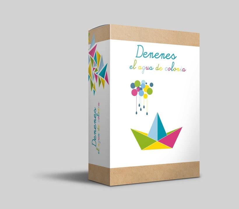 Rediseño Packaging colonia Denenes 0