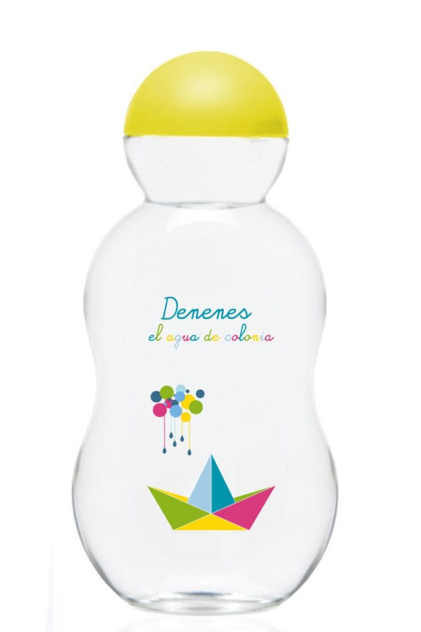 Rediseño Packaging colonia Denenes 2