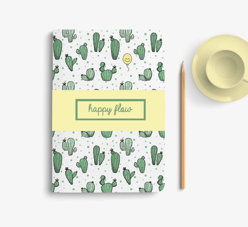 Textil Happy Flow 1