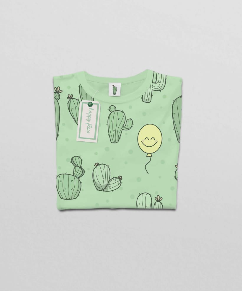 Textil Happy Flow 2