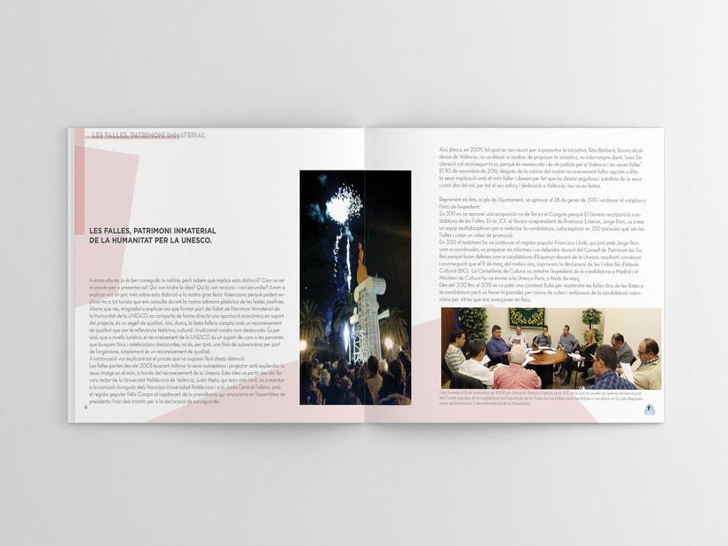 Diseño editorial Llibret Falla Alberique  1