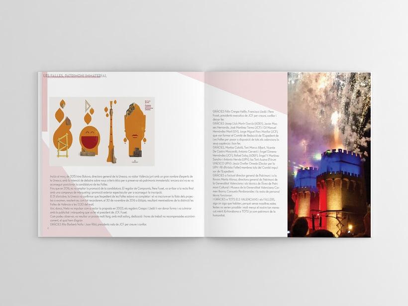 Diseño editorial Llibret Falla Alberique  2