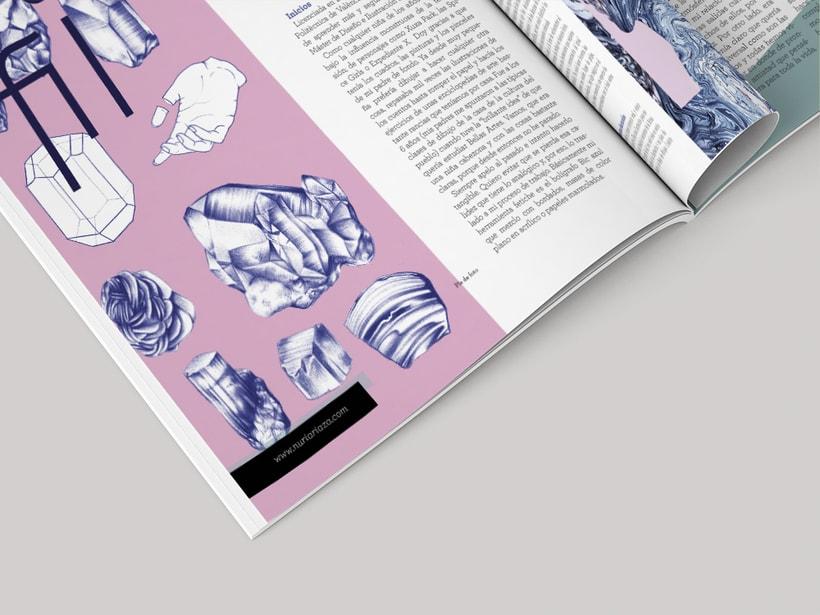 Propuesta de diseño editorial revista Eme  2