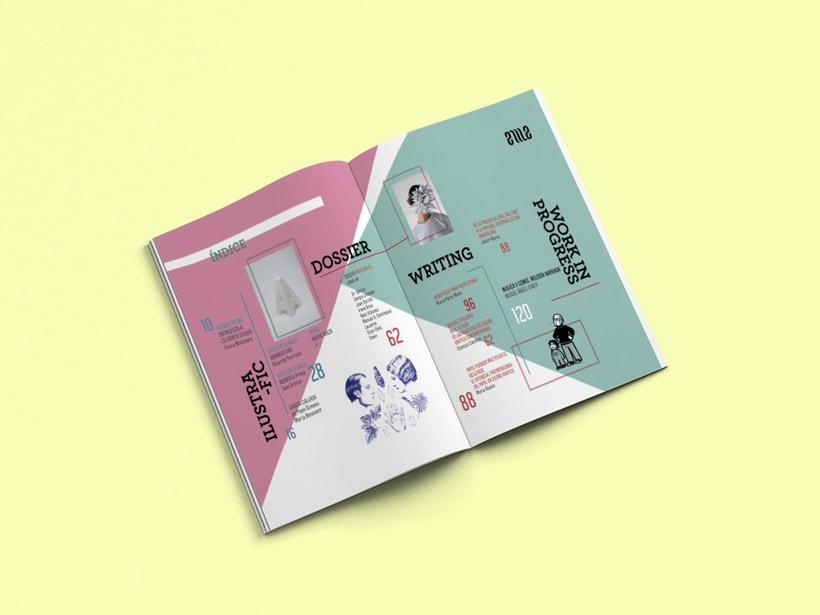 Propuesta de diseño editorial revista Eme  0