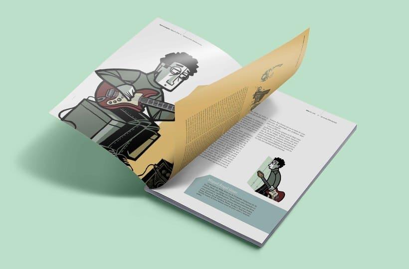 Propuesta de diseño editorial revista Eme  4