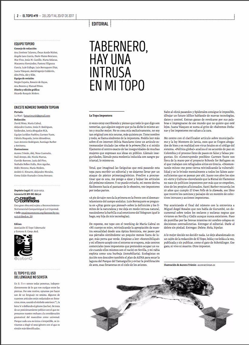 Editorial Topo (La Maka de Schrödinger) 0
