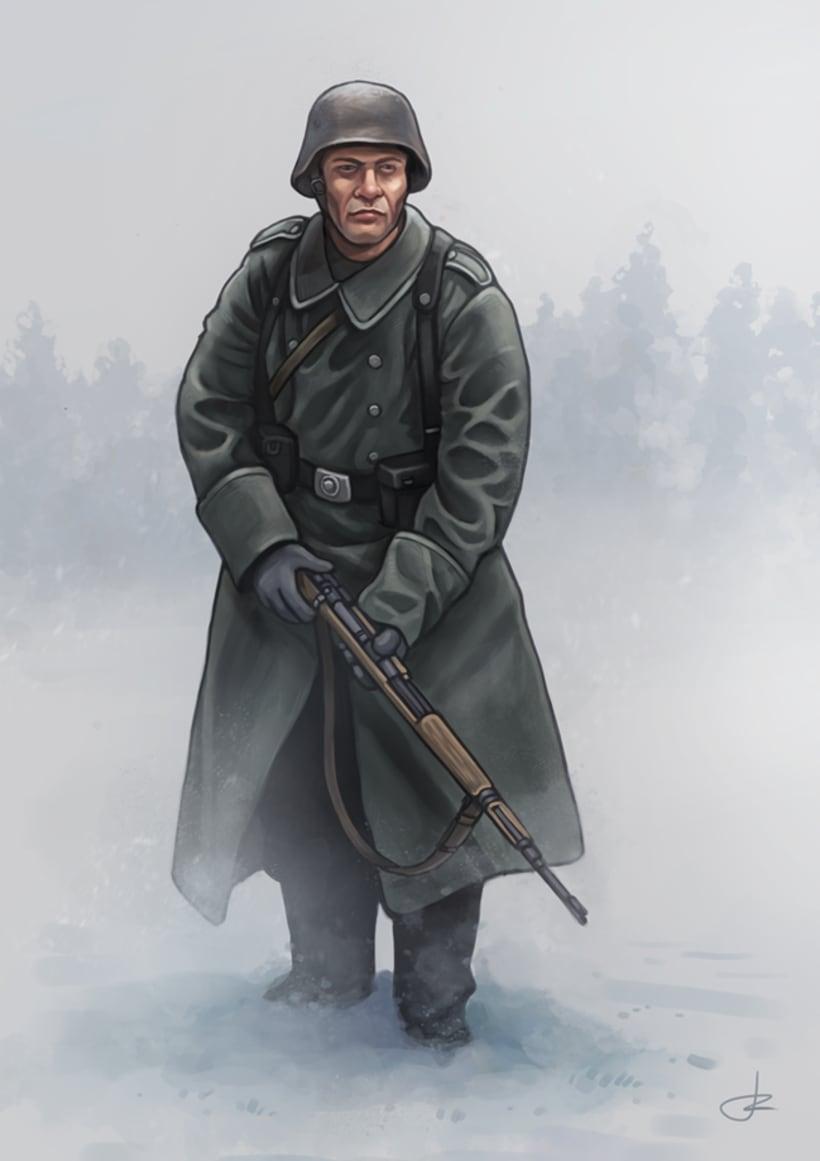 Granadero alemán 1944 0