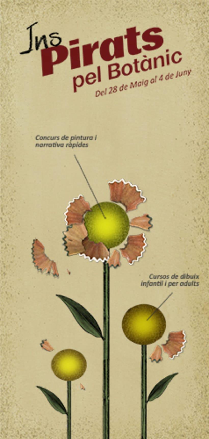 Proyecto de cartelería para el Jardín Botánico de Valencia -1
