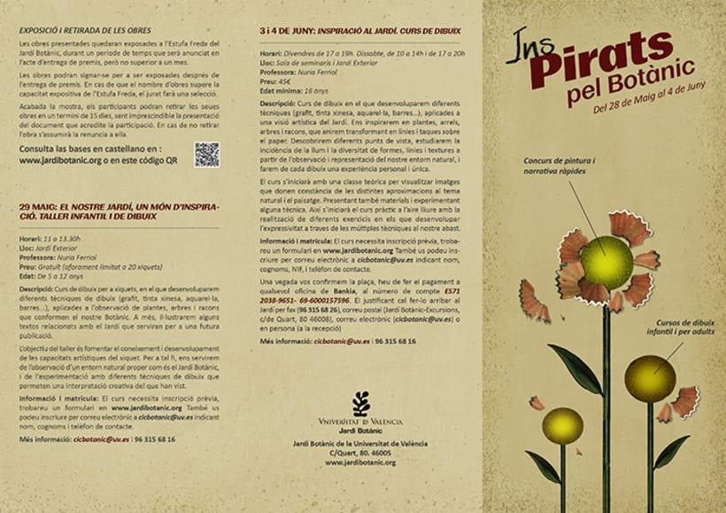 Proyecto de cartelería para el Jardín Botánico de Valencia 0