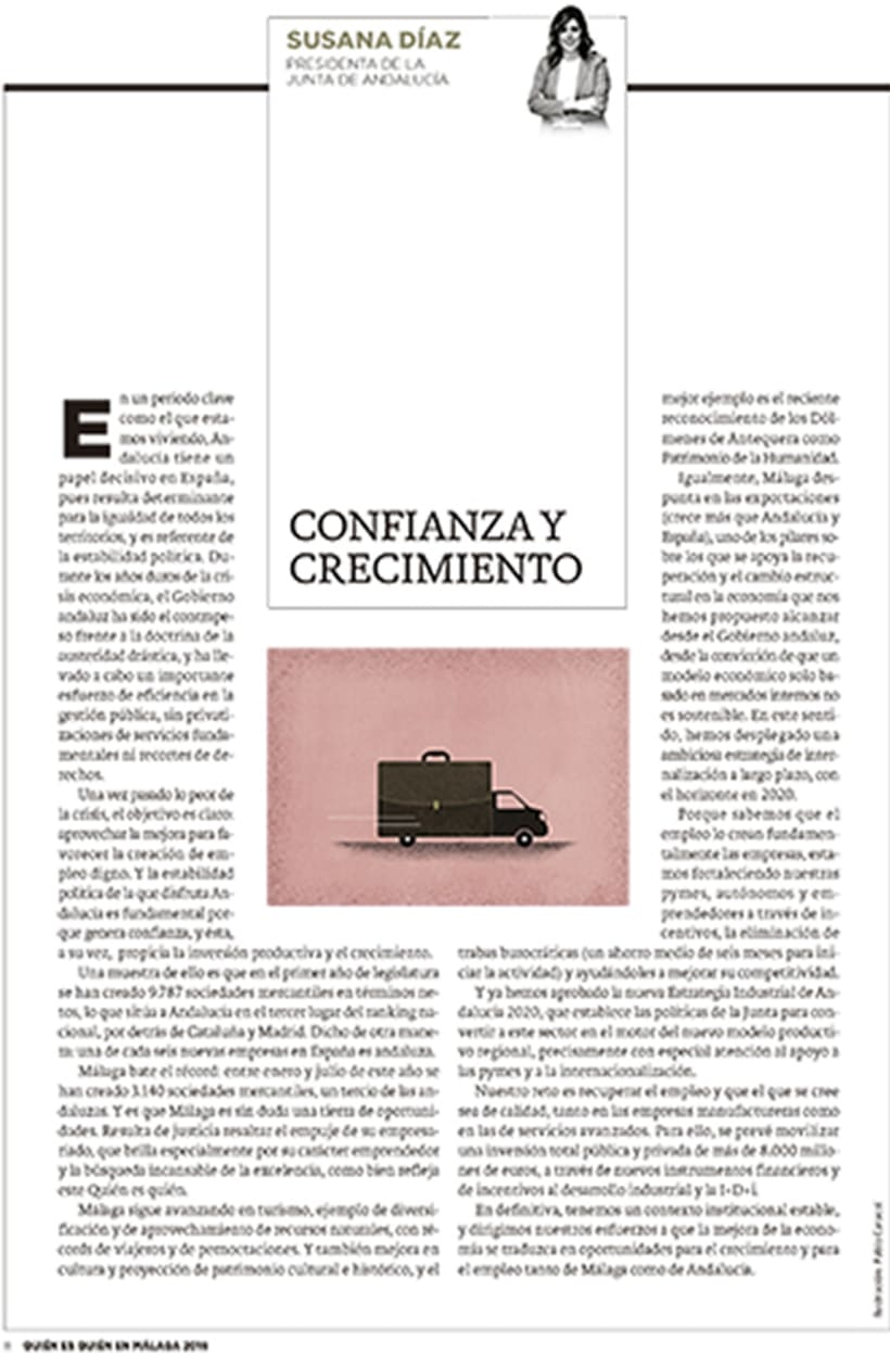 Ilustraciones para Diario Sur 0