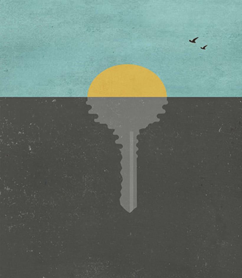Ilustraciones para la revista TIEMPO 0