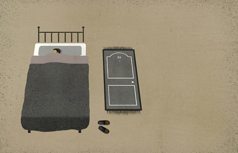 Ilustraciones para la revista TIEMPO 3