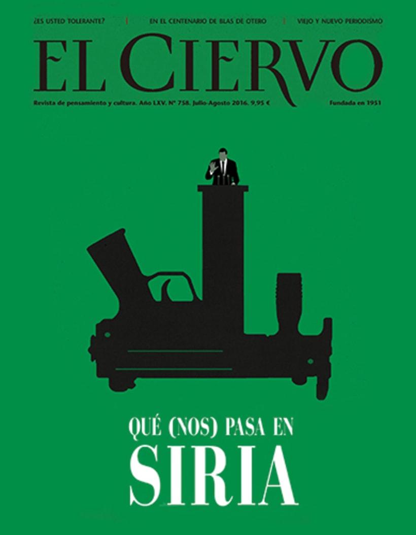 Portadas, El País, revista El Ciervo, La Marea, Diario Sur, Le Cool 0
