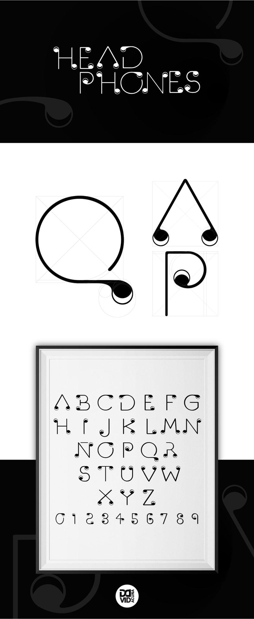Headphone Typography project -1