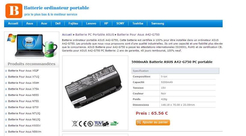 Neuf Batterie pc portable Toshiba PA5013U-1BRSNuevo proyecto 0