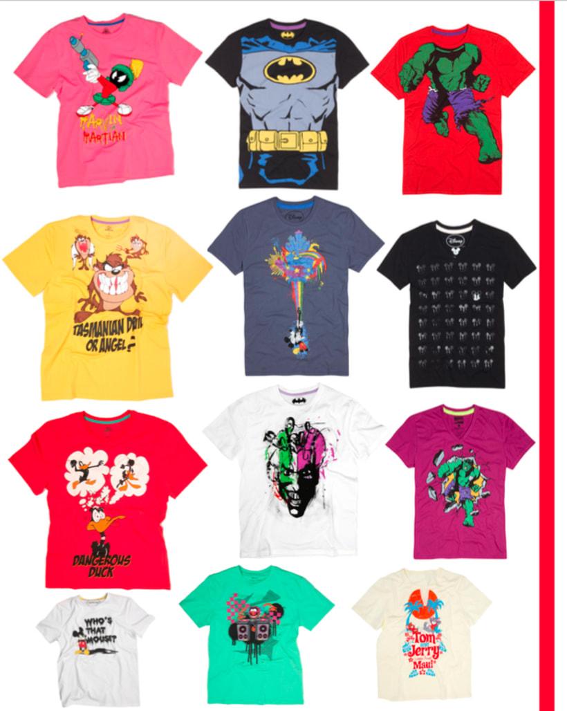 Licenses Textil Tshirt 1