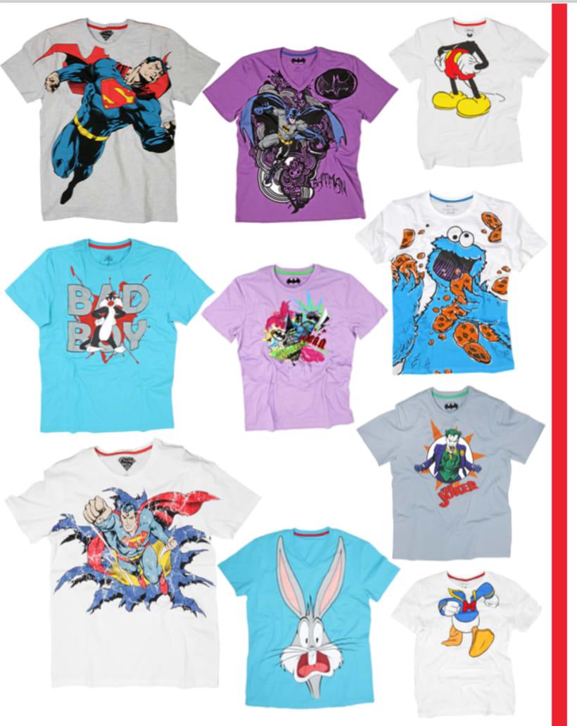 Licenses Textil Tshirt 0