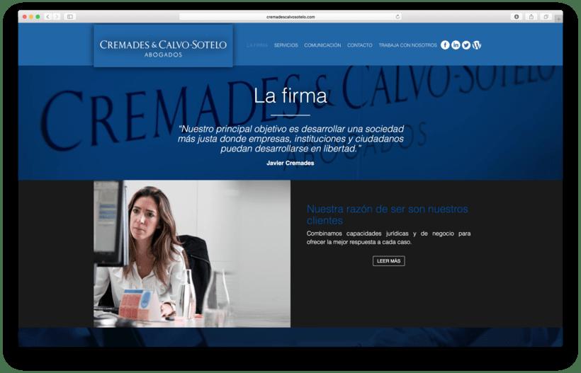 Despacho de Abogados - Cremades & Calvo-Sotelo 1