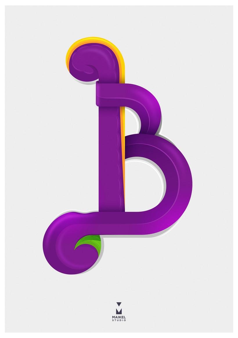 Letra B -1