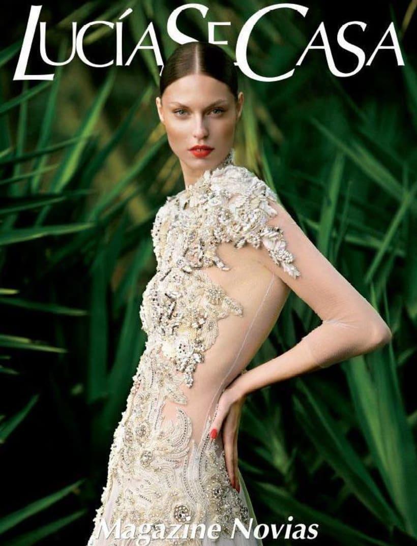 Redactora de moda en la Revista de novias LucíaSeCasa  0
