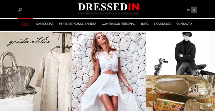 Redactora Freelance para la web de moda DressedIn  0