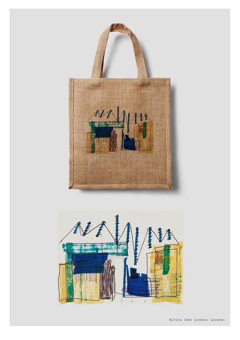 Diseño para bolsa de tela -1