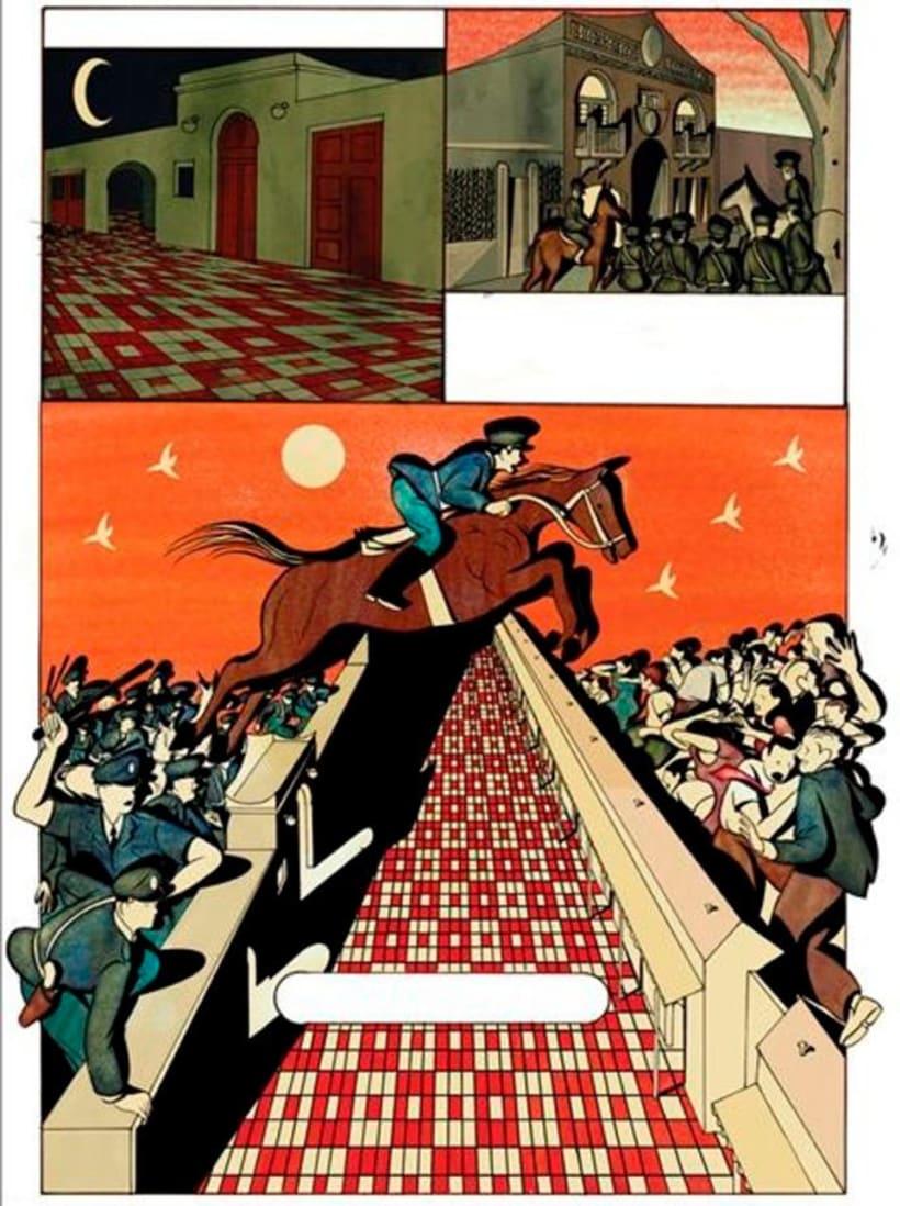 La vida y obra de Cortázar en formato cómic 5