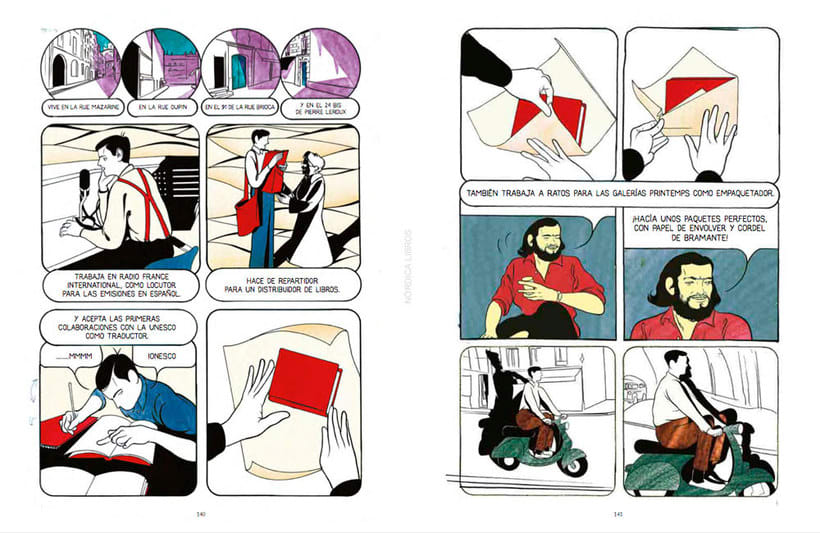 La vida y obra de Cortázar en formato cómic 10